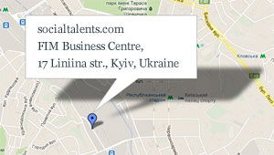 Find us on Google Maps - Socialtalents